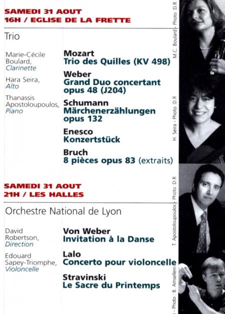 Marie-Cécile BOULARD | Concerts en soliste image 1